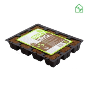 EazyPlug magvető kocka, magvető kocka, ültető kocka, ültető közeg, kókusz kockaszaporító közeg