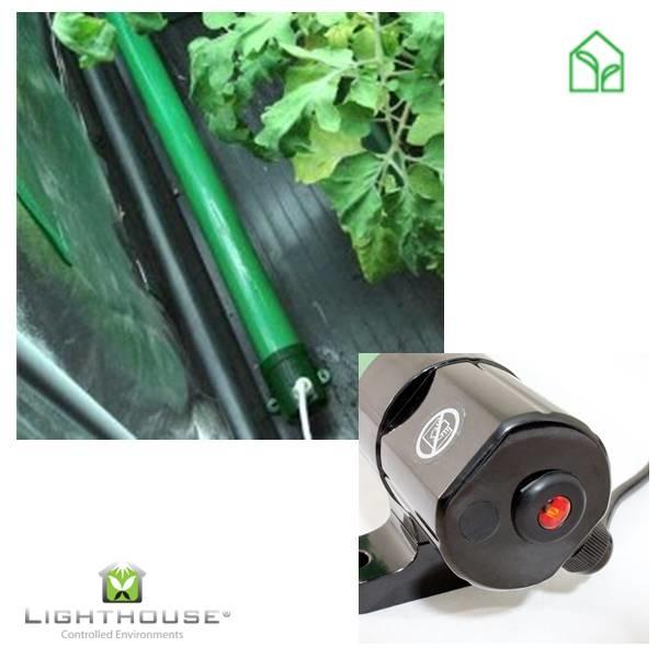 ecoheat üvegház fűtőcső, üvegház fűtés