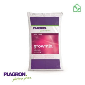 grow soil, plant soil, plagron growmix, potting soil, fertilised soil
