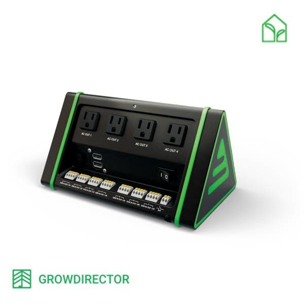 enviroment conroller, climate controller, growdirector, automatic enviroment control, környezet vezérlő