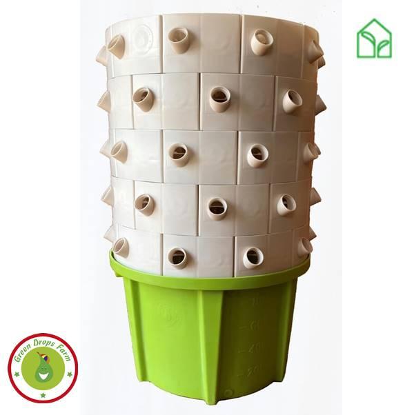 Green drops hydro tower vízkultúrás rendszer, hidroponika, hidroponikus rendzser, vízkultúrás rendszer, green drops, hydro tower