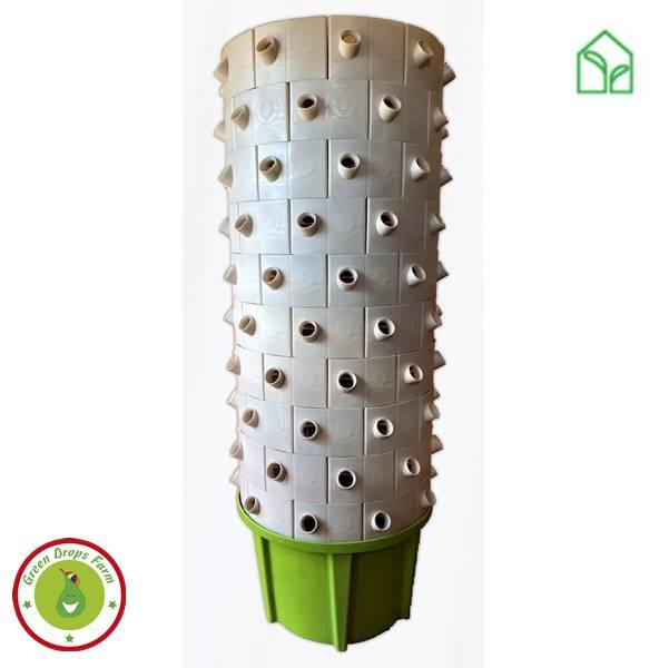 hidroponika, hidroponikus rendzser, vízkultúrás rendszer, green drops, hydro tower